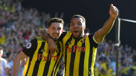 Gracia likened Watford to Leicester. AFP