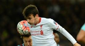 Pedro Chirivella, jugador del Liverpool, se encuentra ahora mismo luciéndose en Holanda. AFP/Archivo
