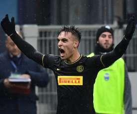 Lautaro a donné son 'OK' au Barça. AFP