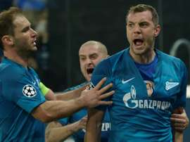 Zenit deny Lyon chance to clinch early Champions League last 16 spot. AFP
