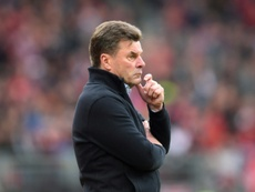 Dieter Hecking will no longer be the Hamburg coach. AFP