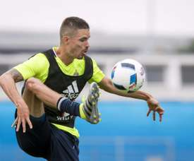 Lustig manquera la rencontre de quart de finale. AFP