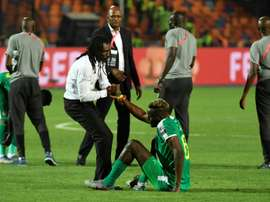 Senegal's Cisse laments another missed opportunity. AFP
