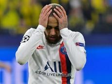 Neymar scored. AFP