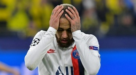PSG doctors, cautious with Neymar. AFP