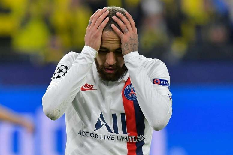 Neymar spoke about his troubles with injuries. AFP