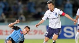 Japan's 'King Kazu' breaks records again in J-League match