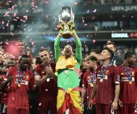 La Supercopa de 2021 se jugará en Belfast. AFP/Archivo