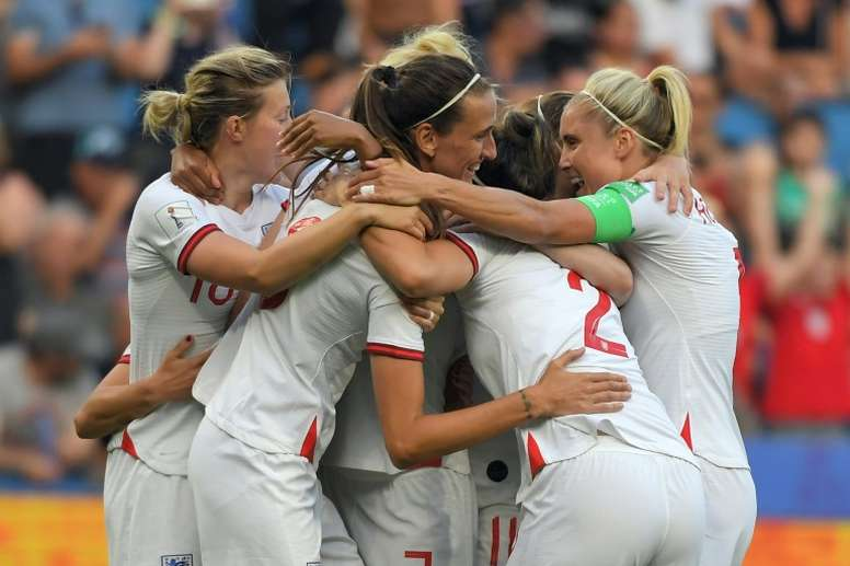 Wembley sell-out proves boom time for women's football in England