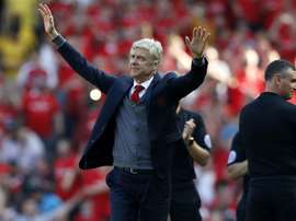 Arsene Wenger won three Premier League title as Arsenal boss. AFP