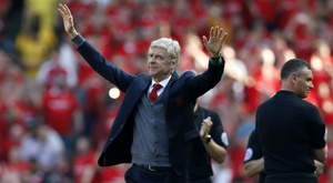 Arsene Wenger won three Premier League title as Arsenal boss. AFP