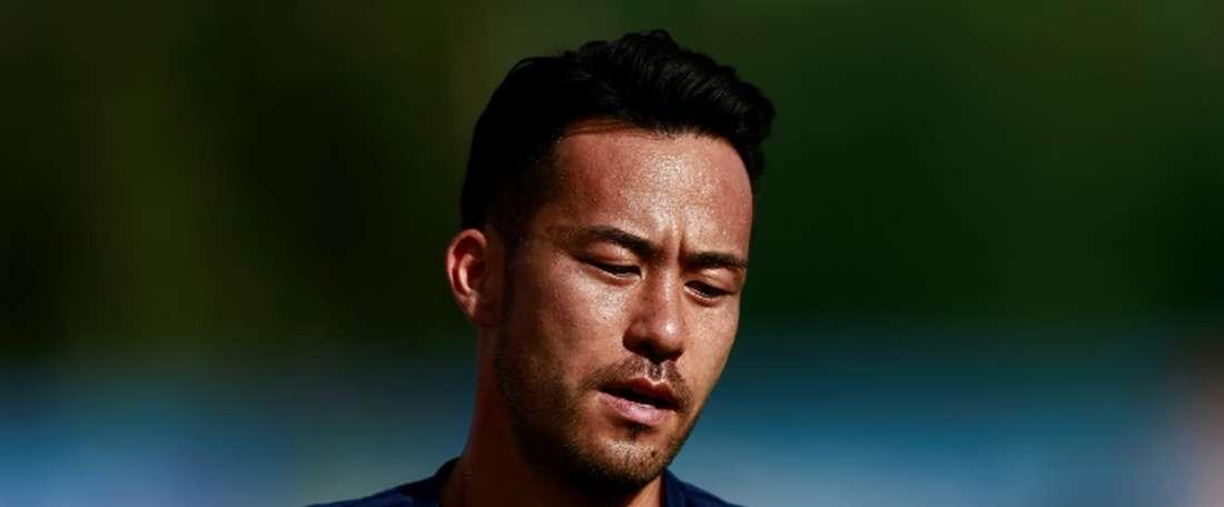Yoshida is proud of his team's fans. AFP