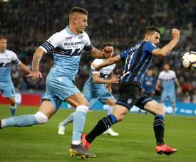 Lazio have found a replacement for Milinkovic-Savic. AFP