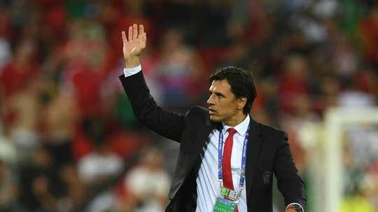 Chris Coleman ha dejado su cargo como seleccionador de Gales. AFP/Archivo