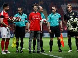 Charlton honour London attack policeman.