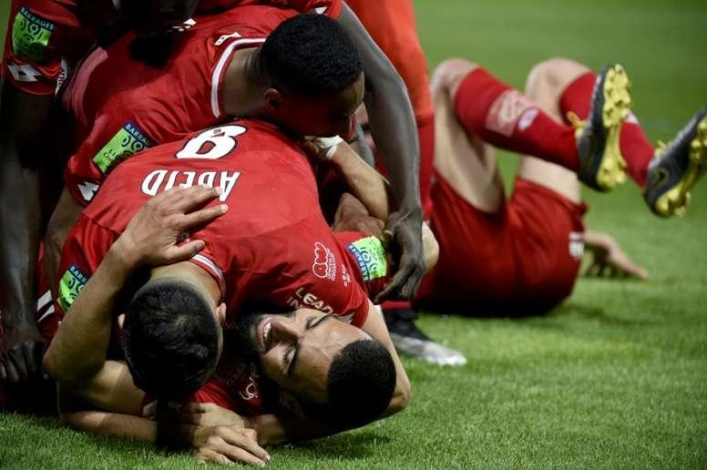 Ligue 2 clubs are calling for a 22 team league next season. AFP