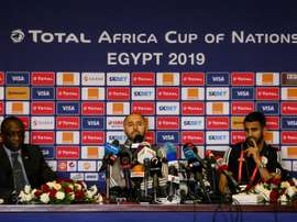 Algeria boss Belmadi will not be underestimating any opposition at the tournament. AFP