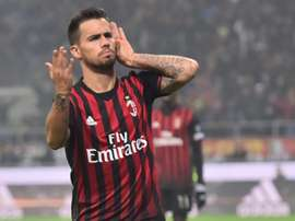 Fiorentina are interested in Suso. AFP