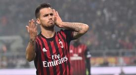 Suso, jogador do Milan, ligado ao liverpool.EFE