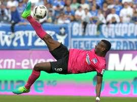 Kalou a le poids du Hertha sur les épaules. AFP