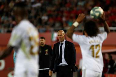 Zidane already went through a worst streak in the Champions League. AFP