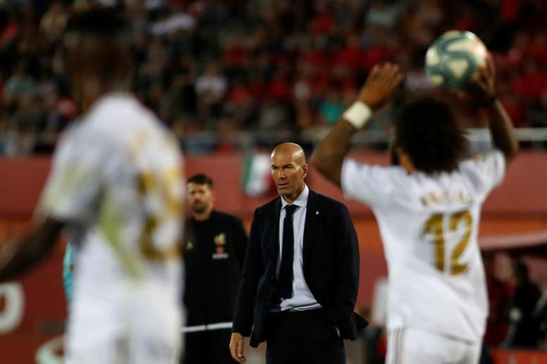 La plantilla del Madrid está a muerte con Zidane. AFP