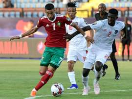 Morocco gifted win as Namibia concede late own goal. AFP