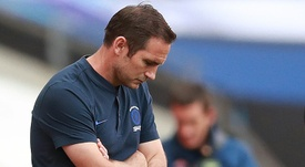 Lampard says the Premier League should give Chelsea a fair start. AFP