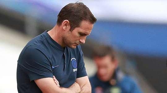 Lampard says the Premier League should give Chelsea a fair start. AFP