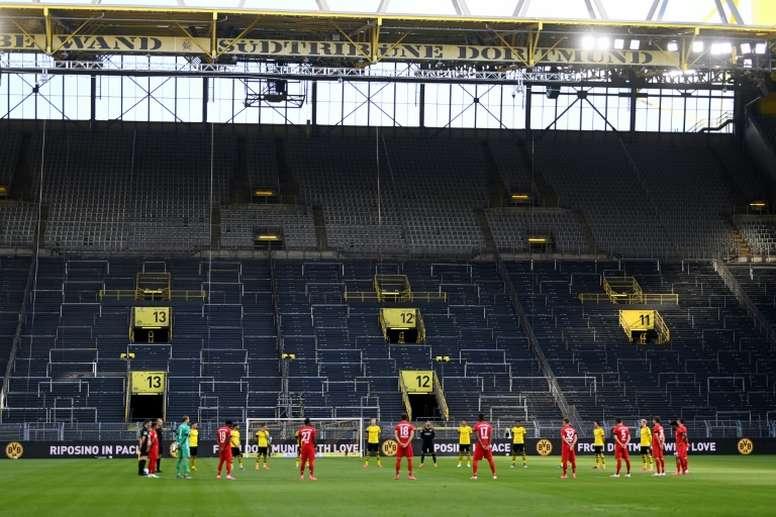 No place like home? Not in German Bundesliga. AFP