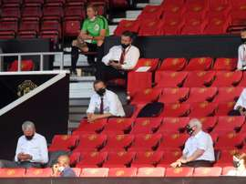 Man Utd do not understand why supporters are still banned from stadia. AFP