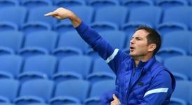 Lampard, peor técnico junto a Villas-Boas. AFP