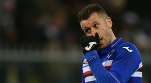 Antonio Cassano has not played in a professional game since May 2016. AFP