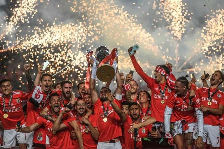 Benfica prépare un nouveau contrat pour une pépite de son équipe réserve. Twitter/SLBenfica