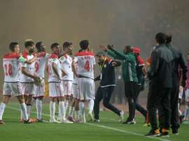 Wydad refused to continue playing after a second-half equaliser was disallowed. AFP