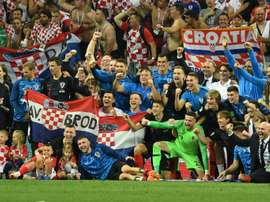 Croatia have made the World Cup final. AFP