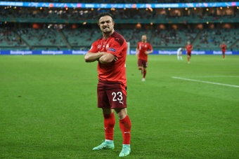 Shaqiri wants to play for Lazio. AFP