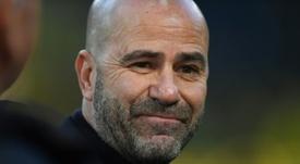 O técnico do Bayer pode alcançar marca histórica. AFP