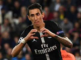 Di Maria grabbed his sixth goal of the campaign on Wednesday in the Champions League. AFP