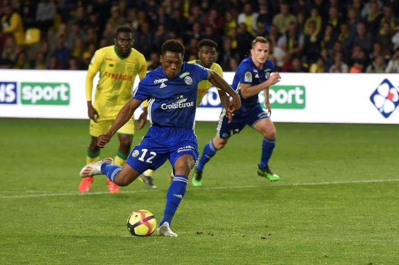 Mothiba enjoyed a strong season at Strasbourg this past year. AFP