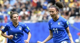 Italy struck late to beat Australia. AFP