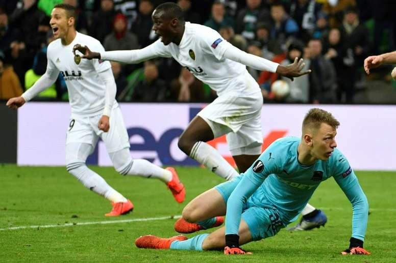 Guedes acabó con el sueño del Krasnodar. AFP