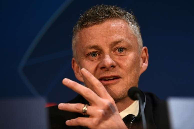 Solskjaer llega con ambición. AFP