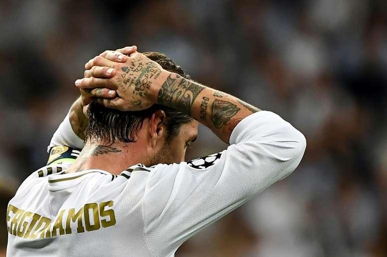 Le pire début de Ligue des champions de l'histoire du Real Madrid. AFP