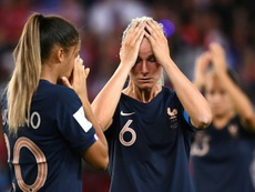 France's dreams were crushed after defeat to USA. AFP