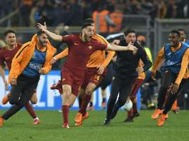 Manolas is eager to get going. AFP
