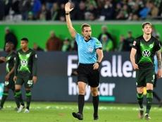 VAR denies Wolfsburg chance of going top. AFP