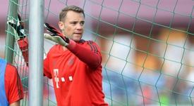 Neuer a retrouvé les cages du Bayern en Bundesliga. AFP
