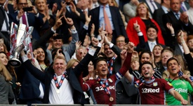 Aston Villa are asking for around 80 million pounds for Grealish. AFP
