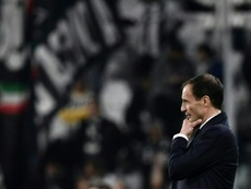 Allegri has won ten trophies with Juventus since taking over in the 2014-2015 season. AFP